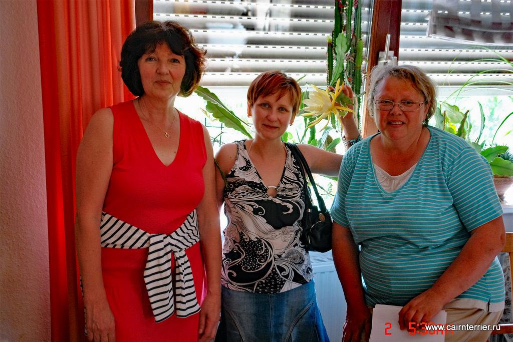 Christiane Wentze, Katharina Gelfrih и Elena Sorokina