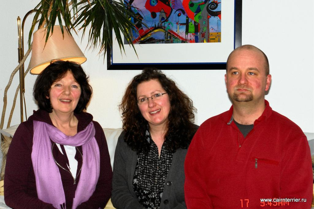 Заводчики керн терьеров Wentzel Christiane, Tanja Reiser и Cord Reiser
