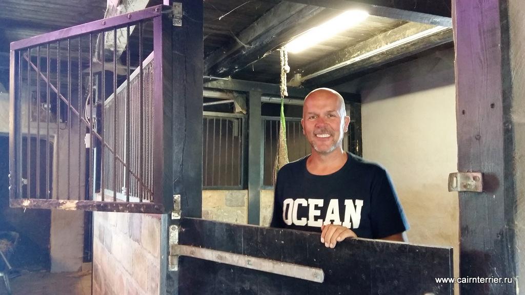 The owner Kennel Rottrivers Christer Olander Lindblom